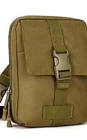 5L L Bolsa de cinturón Acampada y Senderismo / Carrera / Correr Al Aire Libre Impermeable / Listo para vestir Marrón Nilón OEM
