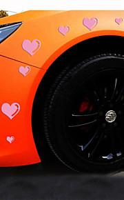 reflecterende romantische liefde persoonlijkheid auto stickers (15pcs / set)