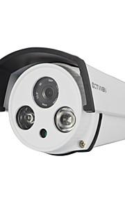 ctvman cctv ip camera HD 720p bedraad nachtzicht LED-array ir outdoor 1.0 megapixel ondersteuning ONVIF p2p