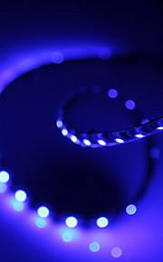 fleksibel lys band belysning 12V SMD lysdioder 120cm vandtæt blå 60