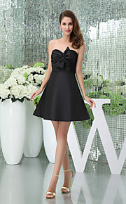 Cocktail Party Dress A-line Sweetheart Short/Mini Taffeta