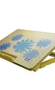 ergonomisch verstelbaar koeler cooling pad met standhouder pc laptop notebook