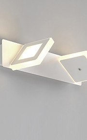 6W LED Bathroom Lighting , Modern/Contemporary LED Integrated Metal