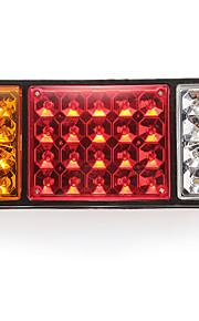 lámpara de par, la luz trasera 36LED 3 colores para DC24V impermeable del carro del coche