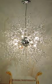 3 Globe Cristal / LED Chromé Métal LustreSalle de séjour / Chambre à coucher / Salle à manger / Cuisine / Bureau/Bureau de maison /