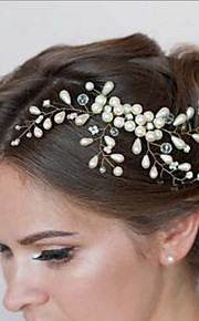 Bride's Flower Shape Rhinestone Hair Comb Wedding Hair Clip Accessories 1 PC
