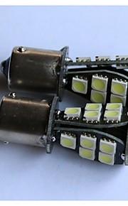 1156/1157 / T20 / T25 5050-18smd auto luce luce del freno posteriore sua volta retromarcia lato lampada luce marcatore bianco blu giallo
