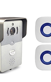 besetey®two indendørs klokke og en intelligent wifi video dørklokken HD720p fuld duplex lyd wifi dørklokke til telefon pad pc