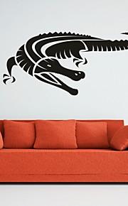 חיות / רומנטיקה / אופנה / אבסטרקט / פנטזיה מדבקות קיר מדבקות קיר מטוס,PVC M:42*90cm / L:55*121cm