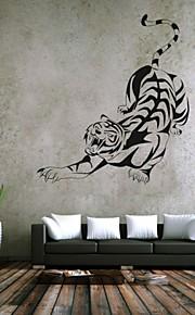 חיות / רומנטיקה / אופנה / אבסטרקט / פנטזיה מדבקות קיר מדבקות קיר מטוס,PVC M:42*67cm/ L:55*87cm