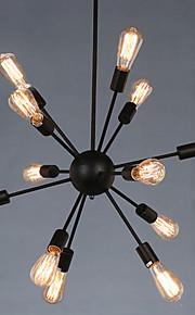Max 60W Campestre Los diseñadores Pintura Metal Lámparas ColgantesSala de estar / Dormitorio / Comedor / Cocina / Habitación de