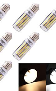Ampoules Maïs LED Décorative Blanc Chaud / Blanc Froid YouOKLight 6 pièces T E26/E27 5W 99 SMD 5730 350 lm AC 100-240 / AC 110-130 V