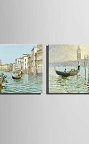 ミニサイズe-ホーム油絵現代のシュイチョン風景純粋な手は、フレームレス装飾画を描きます