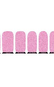 vackra rosa miljövänligt glitter spik smycken