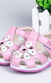 Baby Shoes Dress / Casual PU Flats Pink / Red / White