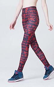 Women Cross - spliced Legging,Polyester Medium
