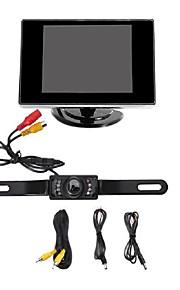 """auto achteruitrijcamera met nachtzicht + 3,5 """"TFT LCD-beeldscherm (niet geschikt voor vrachtwagen, bestelwagen en lange voertuig)"""