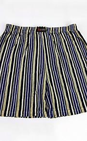 Mens Striped Boxer Shorts Lot New Plaid Boxer Underwear Medium Large XL XXL XXXL