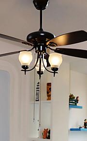 max60w Ventilateur de plafond ,  Contemporain Autres Fonctionnalité for Designers MétalSalle de séjour / Chambre à coucher / Salle à