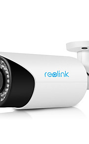 reolink®rlc-411 4x optische gemotoriseerde zoom poe outdoor waterproof bullet ip camera