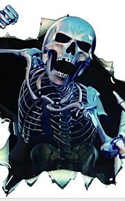 adesivi per auto autoadesivi del corpo di scheletro paura delle decalcomanie dell'automobile di graffiti
