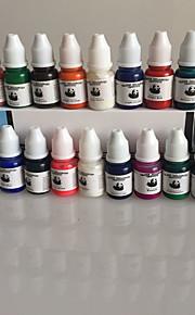 набор 40 цветов татуировки чернила татуировки 8ml / бутылка пигмента Профессиональный набор