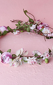 Women's Fabric Headpiece-Wedding / Special Occasion / Casual / Outdoor Wreaths