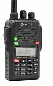 WOUXUN KG-UV6D 1700mAh Walkie-talkie 5W/1W 199 400-470 mHz / 136-174 mHz 1700mAh 3-5 kmFM-radio / Nødalarm / Programmerbar med PC