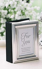 20th Wedding Anniversary Mini Photo Album Favor / Place Card Holder Party Favors