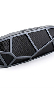 fashion draadloze draagbare bluetooth speaker stereo speakers handsfree met fm-radio Ondersteuning TF-kaart usb batterij