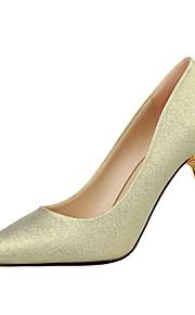 Chaussures Femme-Mariage / Décontracté-Noir / Vert / Rose / Rouge / Argent / Gris / Or / Kaki-Talon Aiguille-Talons / Bout Fermé / Bout