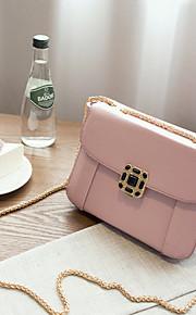 Women PU Baguette Shoulder Bag-Pink / Red / Gray / Black