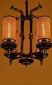 40W Campestre Mini Estilo Otros Metal Lámparas ColgantesSala de estar / Dormitorio / Comedor / Habitación de estudio/Oficina / Sala de