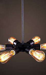 MAX 60W Moderno / Contemporáneo / Tradicional/Clásico / Retro / Campestre Mini Estilo Pintura Metal Lámparas ColgantesSala de estar /