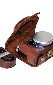dengpin pu læder kamerataske taske cover til Fujifilm x70 (assorterede farver)