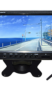 9 inch TFT-LCD auto achteruitkijkspiegel te controleren 2 AV-kanaal met standaard omgekeerde back-up camera van hoge kwaliteit