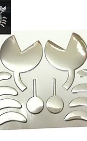 ziqiao adesivi granchio 3d decorazione auto adesivo personalità