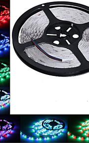 5m hry® smd 3528 rgb 300 LED farge skiftende fleksibel stripe lys (DC12V)