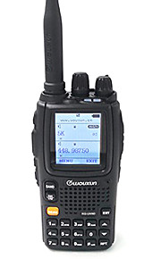 WOUXUN KG-UV9D PLUS Walkie-talkie 5W 2000mAh 136-174 mHz / 400-520MHz 2000mAh 3-5 kmFM-radio / Nødalarm / Programmerbar med PC software /