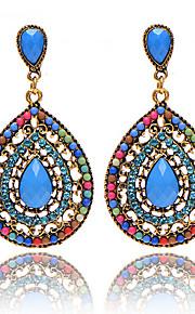 Bohemian Beads Full Of Diamond Drops Earrings