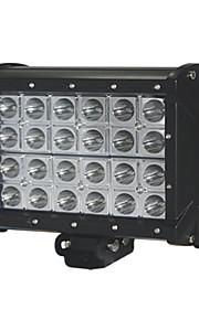 1stk 24v trailer LED lys bar 6.5 '' 80w Cree LED lys bar fire rækker LED lys bar