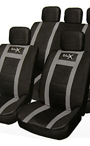 auto Universaali Musta / Harmaa Istuinpäälliset ja tarvikkeet