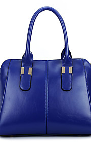 Women-Formal / Casual / Office & Career / Shopping-PU-Tote-Blue / Yellow / Red / Black