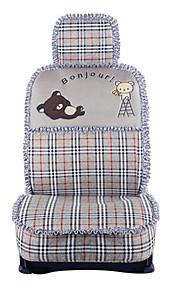 cubierta de asiento de coche lindo cerveza ajustes universales del asiento protector de asiento cubre conjunto con la almohadilla