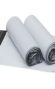 לבן מעובה שקית אריזה ולוגיסטיקה עמידה למים (55 * 65cm, 100 / חבילה)