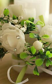 Thème de jardin Favors Candle-1 Piece / Set Bougies Non personnalisé Blanc