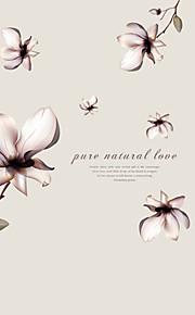 ботанический / Слова и фразы / Натюрморт / Мода / Цветы / фантазия / Отдых Наклейки Простые наклейки,PVC 90*60*0.1