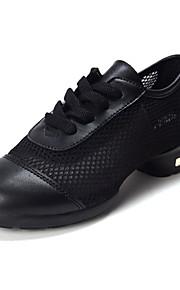 Sapatos de Dança(Preto / Azul / Vermelho) -Feminino-Não Personalizável-Tênis de Dança