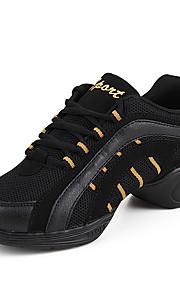 Sapatos de Dança(Branco / Dourado / Fúcsia) -Feminino-Não Personalizável-Tênis de Dança