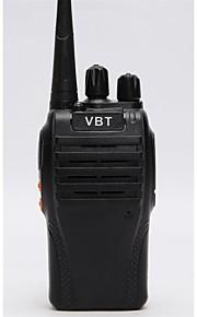 OEM-fabrik VBT-Q3 Walkie-talkie ≤5W 16 400-470 mHz 1500MAh 3-5 kmNødalarm / Stemmekommando / VOX / Advarsel om lavt batteri / Timeout